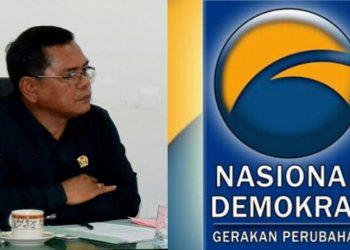 Ketua DPD Nasdem kota Siantar, Frans Herbert Siahaan. (isiantar/nda).