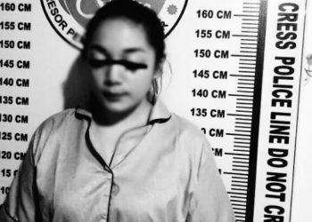 Perempuan muda warga Siantar yang ditangkap polisi pada Agustus 2018 dalam kasus peredaran narkoba.