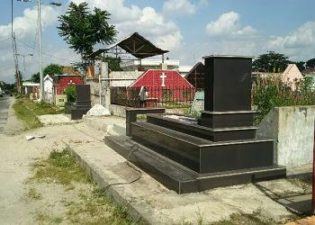 TPU Kampung Kristen Kota Pematangsiantar, Jumat (21/2/2020). (isiantar/nda).