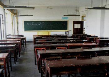 Ilustrasi ruang belajar yang kosong karena jumlah siswa terus berkurang. (ist)