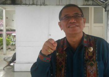 Anggota DPRD Kota Siantar dari PDI Perjuangan, Ferry SP Sinamo. (isiantar/nda).