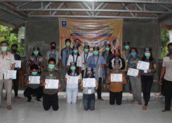Foto bersama kader GMKI Siantar - Simalungun Peserta LDK tahun 2020.
