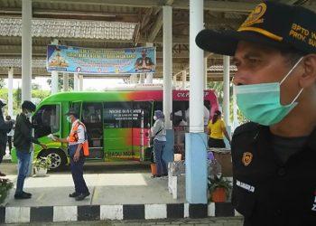Humas Terminal Tipe A Tanjung Pinggir, Jonliben Saragih. (isiantar/nda).