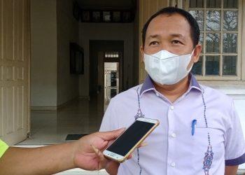 Ketua DPRD Siantar, Timbul Lingga. (isiantar/nda).