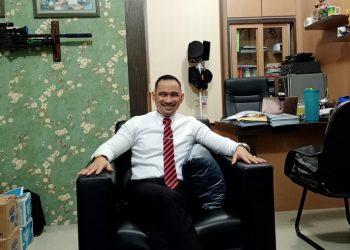 Kepala Seksi Intelijen Kejaksaan Negeri Kota Pematangsiantar, BAS Faomasi Jaya Laila. (isiantar/nda).